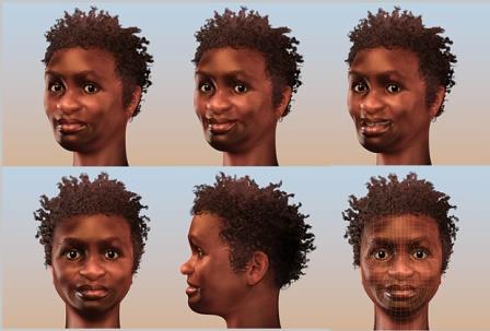 Облик Лузии — так назвали женщину, жившую 11 тысяч лет назад, чьи останки были обнаружены в бразильской пещере
