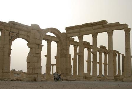 Развалины Пальмиры (2009 год)