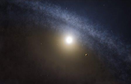 Четыре молодые звезды образованны в экзопланеты