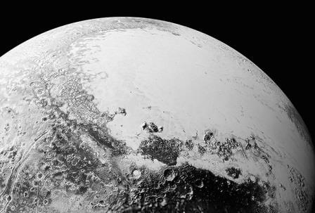 Изображение Плутона, полученное станцией New Horizons
