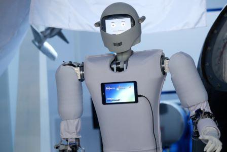 Так выглядит российский робот-космонавт