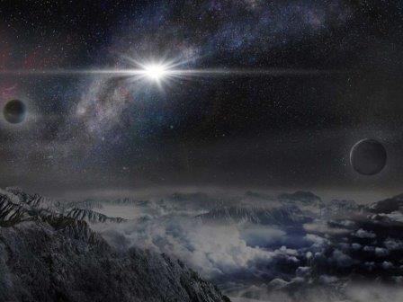 Так могла бы выглядеть сверхновая ASASSN-15lh с экзопланеты, находящейся на расстоянии в 10 тысяч световых лет от нее