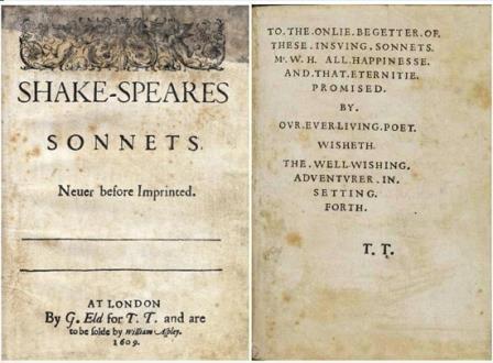 Посвящение шекспировских сонетов