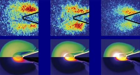 Визуализация потока энергии в капсуле