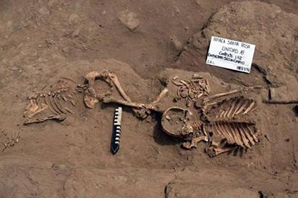 В Перу нашли тайную комнату для человеческих жертвоприношений