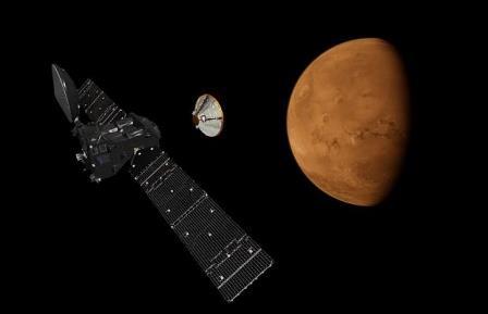 ЕКА опубликовало видео-презентацию первого этапа миссии «ЭкзоМарс»