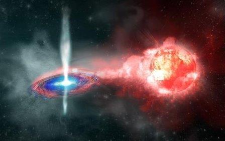 Сверхновая типа Ia до взрыва