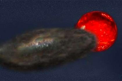 Во Вселенной обнаружена звездная система с трехлетними солнечными затмениями