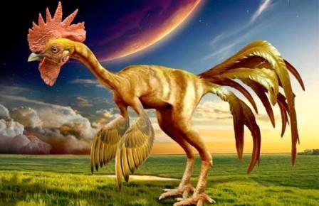 Рождение курозавра: птицам вернули динозавровые лапы