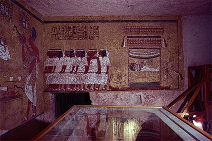 Тайные комнаты обнаружены в гробнице Тутанхамона