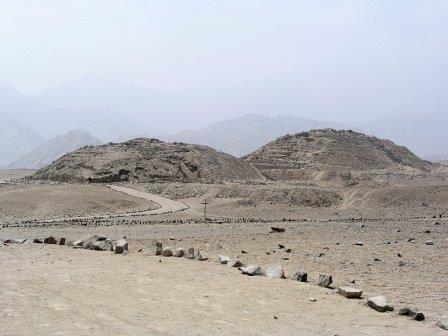 Остатки пирамид цивилизации Караль-Супе
