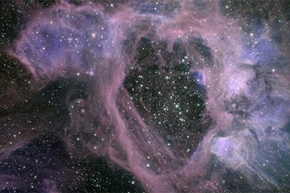 Пузыри в Большом Магеллановом облаке