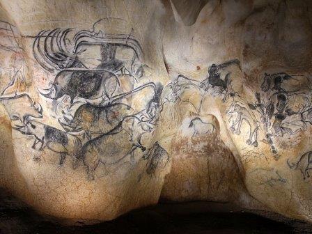 Рисунки в пещере Шове-Пон-д'Арк