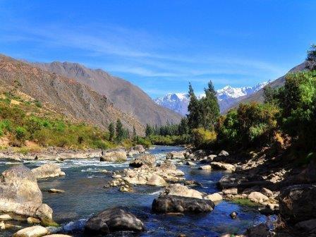 Долина Урубамба в перуанских Андах