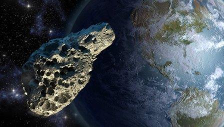 Вчера днем мимо Земли пролетел 500-метровый астероид
