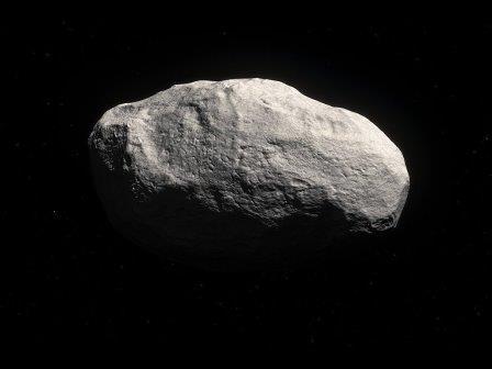 Комета C/2014 S3 в представлении художника