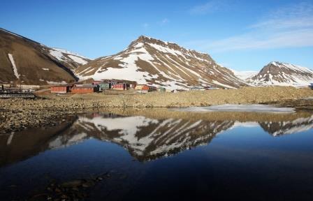 Из-за глобального потепления Арктика меняет цвет
