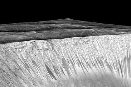 На Марсе может присутствовать кипящая вода