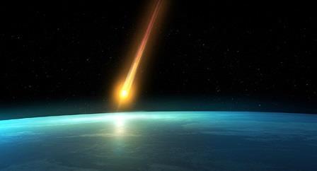 Падение метеорита на северо-востоке США