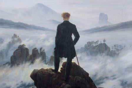 Картина Каспара Давида Фридриха «Странник над морем тумана»