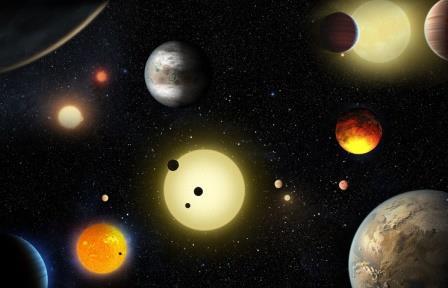 """Телескоп """"Кеплер"""" обнаружил еще 9 планет, на которых может быть жизнь"""