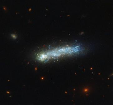 Галактика-головастик LEDA 36252