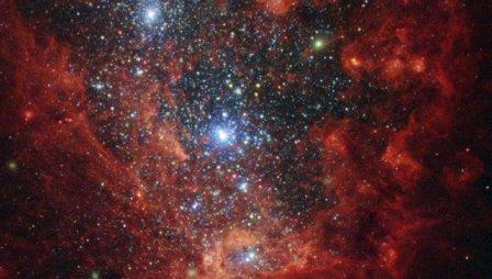 Галактика NGC 1569