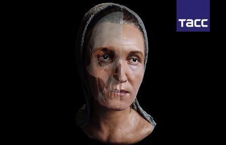 Российские ученые создали 3D-модель кочевницы с необычным черепом, жившей 2 тыс. лет назад