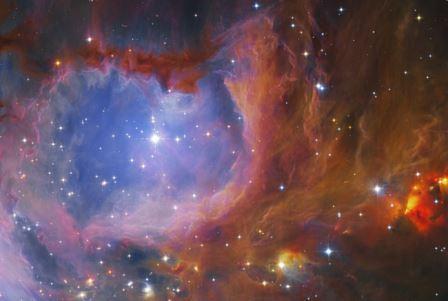 Плотность вещества в межзвездных облаках распределена по тому же закону, что и в цветной капусте