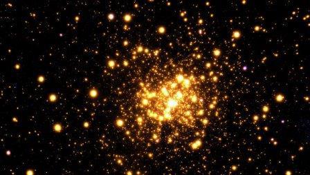 Шаровое скопление Liller1 в созвездии Скорпиона
