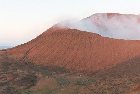 Вулкан Телика в Никарагуа