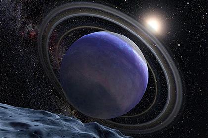 Звезда HR 8799 с протопланетным диском (в представлении художника)