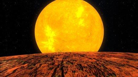 Kepler-10b в представлении художника