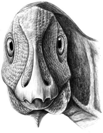 Гадрозавр с опухолью