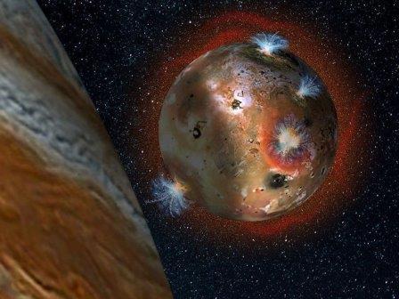 Юпитер замораживает атмосферу Ио каждые 42 часа