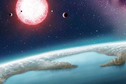 Землеподобная экзопланета (в представлении художника)