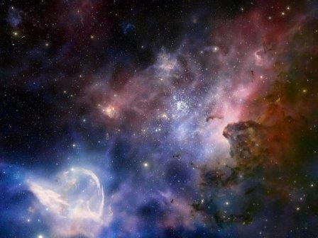 Туманность  NGC 3372