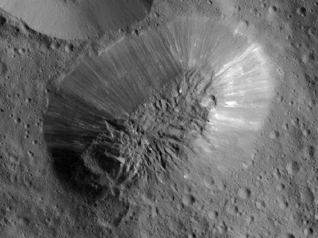 На Церере подтверждено наличие криовулканов