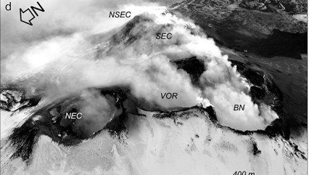 Жерла вулкана Этна