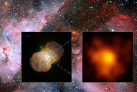 Детальный снимок Eta Carinae