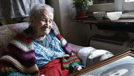 Старейшая жительница земли Эмма Морано