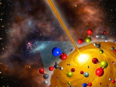 Горячее молекулярное ядро, открытое в Большом Магеллановом Облаке
