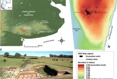 Исследованный учеными регион Южной Америки