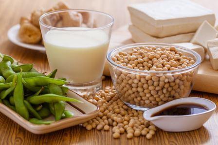 Соя и соевые продукты, такие как сыр тофу, содержат много фитоэстрогенов