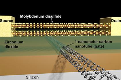 Устройство нового транзистора
