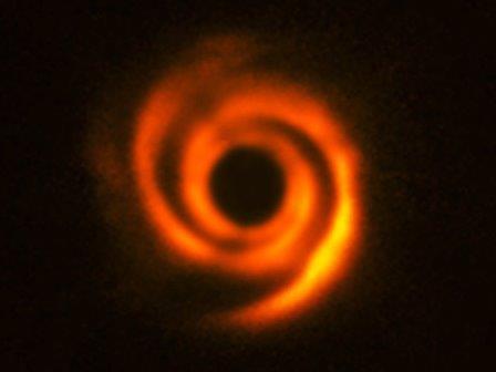 Диск вокруг звезды HD135344B