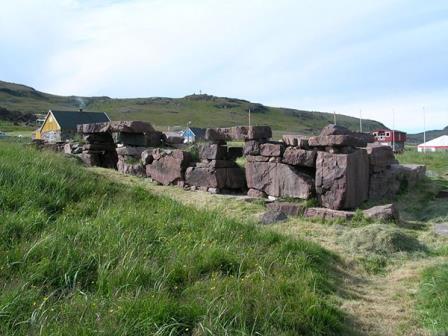 Руины одного из поселений в Гренландии