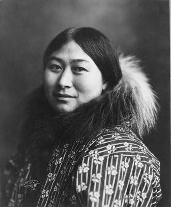Инуитка, 1907 год