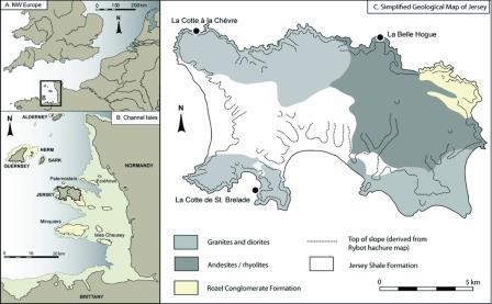 остров Джерси и Нормандские острова