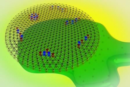 Электронный кристалл превратился в жидкость